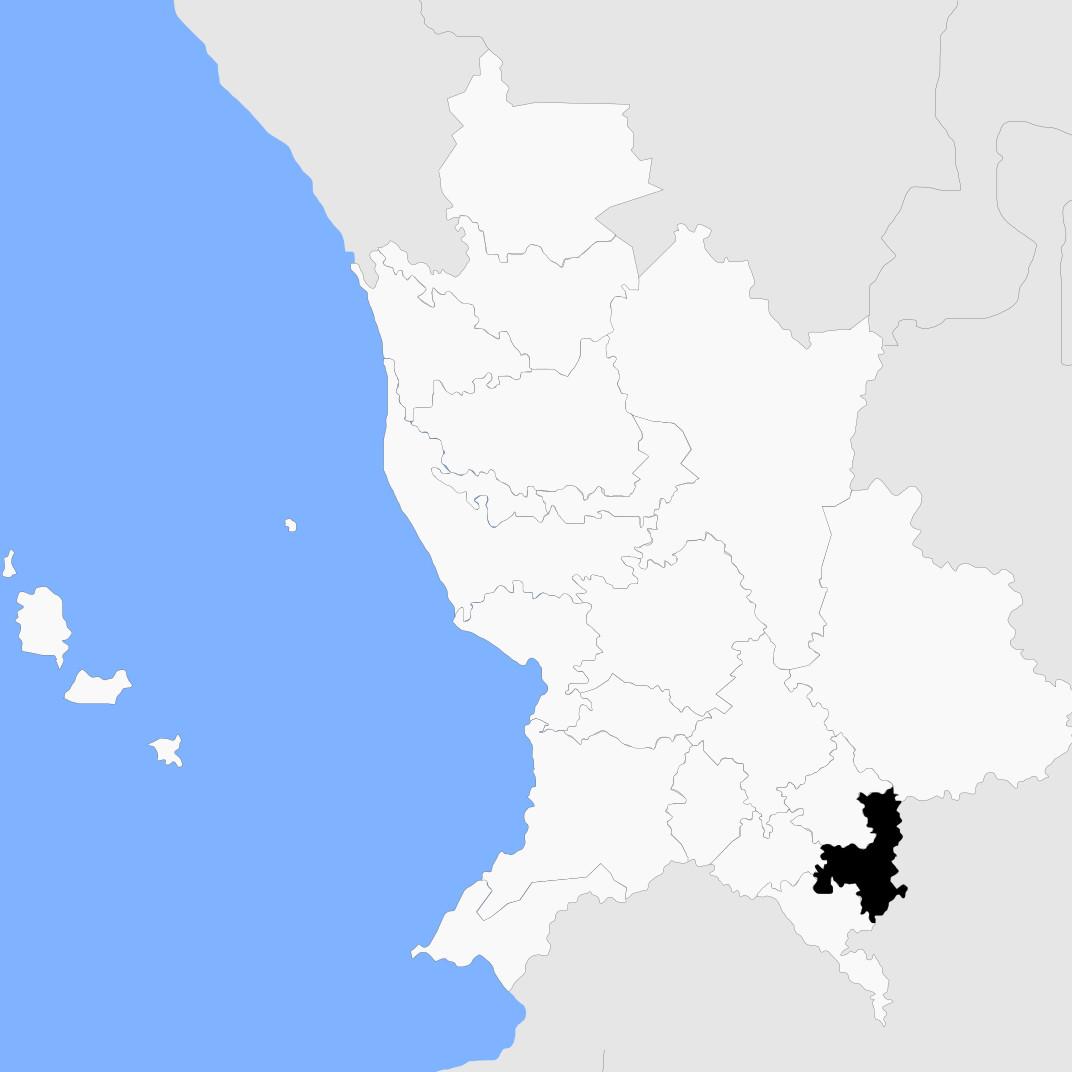 Ubicación de Ixtlán del Río